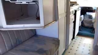 1994 American Cruiser 19ft. Class B Camper Van, Generator, Low Miles, King Bed, $14,900