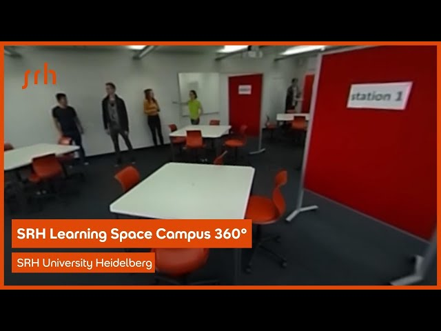 SRH Learning Space Campus 360° Video 6/6 Teamwork T.33