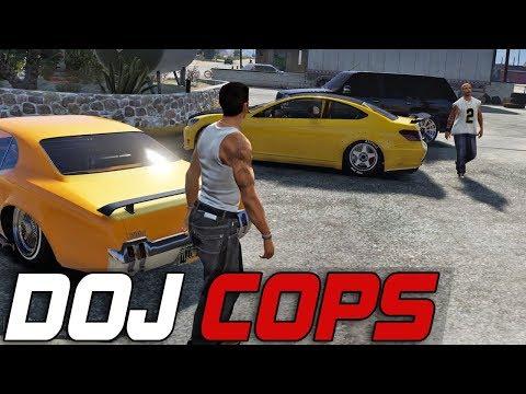 Dept. of Justice Cops #300 - Return of Death (Criminal)