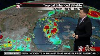 Daniel's Thursday Weather Forecast 9/13/18