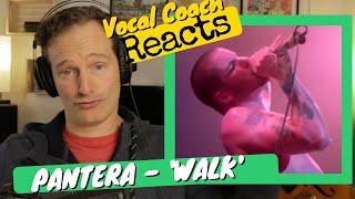 PANTERA 'Walk' - Vocal Coach REACTS