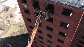 Brewster Projects Demolition - Drone Aerial Footage by Hello Aerial