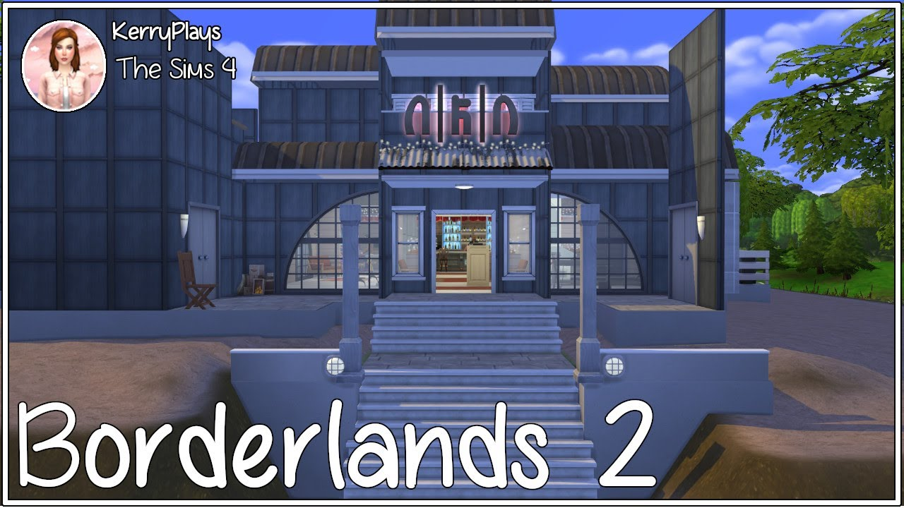 Borderlands 2~~Speed Build~~ Moxxxie's Bar~~in The Sims 4