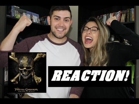 Pirates of the Caribbean: Dead Men Tell No Tales Trailer - REACTION