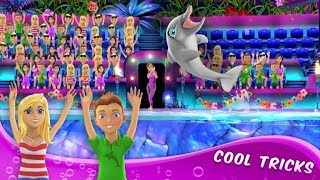 Мультик игра Шоу дельфинов Детское шоу My Dolphin Show game