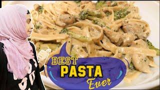 Casa pasta inspired Chicken pasta in cream sauce|Delicious pasta recipe ~HeenaSpace