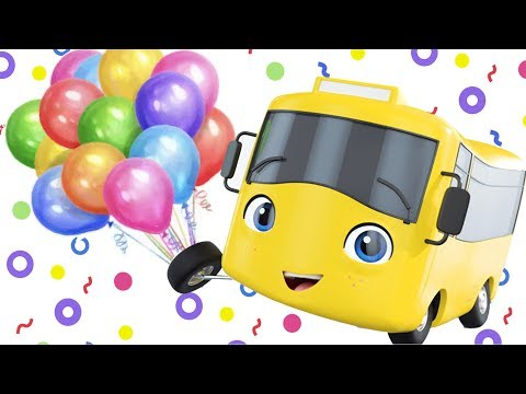 Buster and The Balloons | Go Buster | +More Nursery Rhymes and Baby Songs | Little Baby Bum