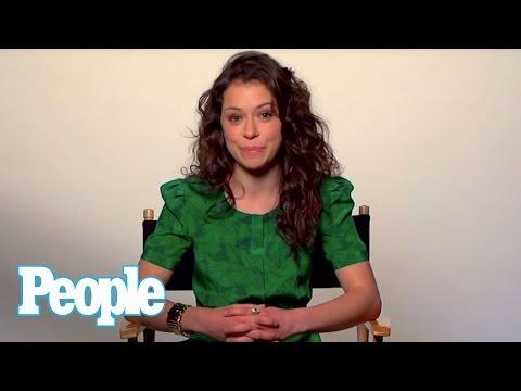 """Orphan Black"" Star Tatiana Maslany Talks Clones, Accents & Nudity | Up Close | People"