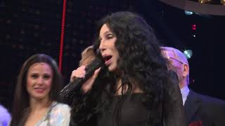 Opening Night curtain call video featuring a surprise performance by Cher