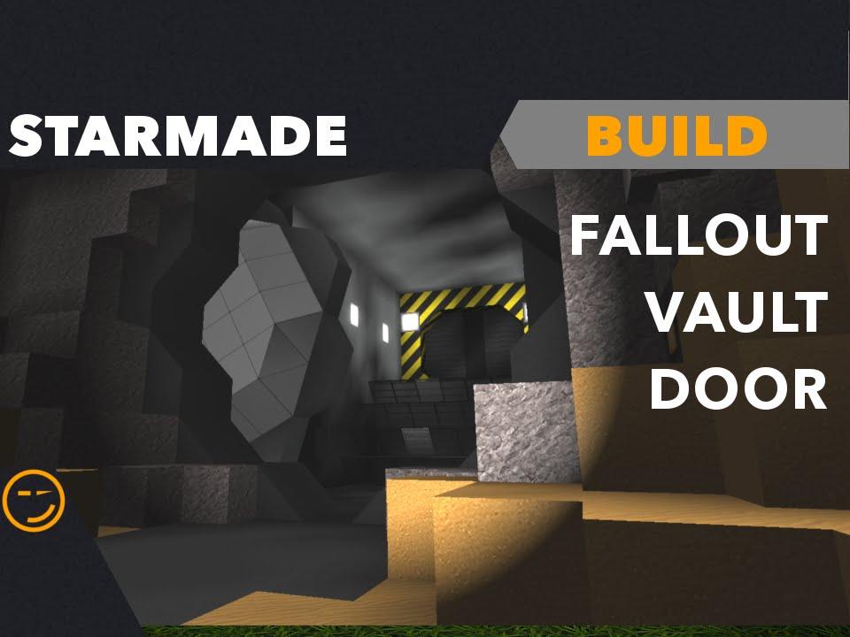 Fallout Vault Door starmade: fallout vault door build - youtube