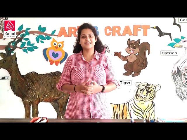 Digital Art & Craft Classes for Learners Grade- VI   Activity- 8   Oragnic Shapes -Tree