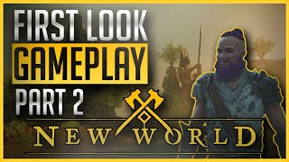 New World MMO: First Impressions Gameplay Continues - Undead Genocide