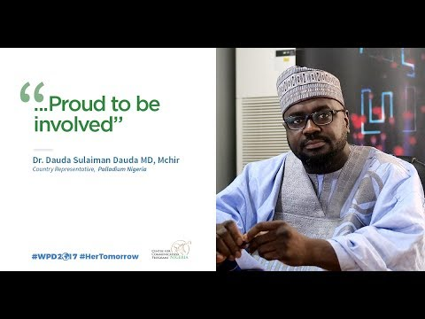 Country Representative, Palladium Nigeria shares his goodwill message for World Population Day