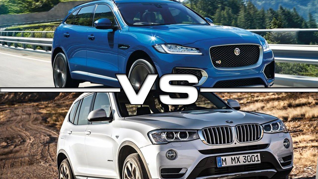 2017 Jaguar FPace vs 2015 BMW X3  YouTube