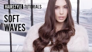 How to style soft waves? by Bruno Dviana | L'Oréal Professionnel tutorials