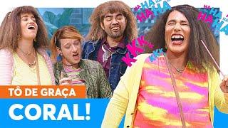 CORAL DA GRAÇA! Para livrar Pablo da cadeia, ela faz de TUDO! | Tô de Graça 20/08/21 EP25
