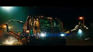 Монстр-трак Черепашек-ниндзя 2 [ Отрывок из фильма ] На английском