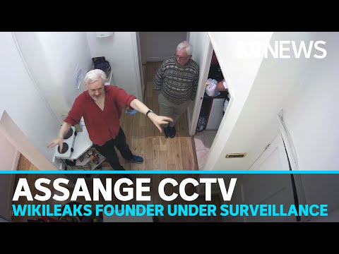ABC obtains alleged spying footage of Wikileaks founder Julian Assange | ABC News