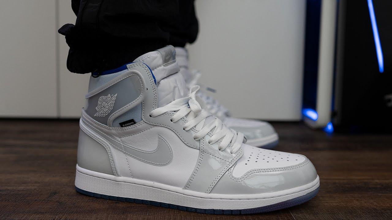 Nike Air Jordan 1 Zoom High Racer Blue Review & On Feet