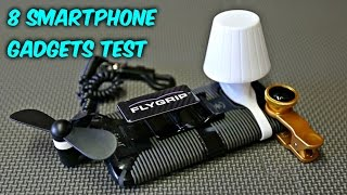 8 Smartphone Gadgets put to the Test by : CrazyRussianHacker