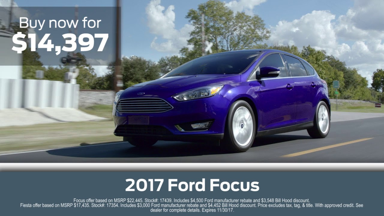 Bill Hood Ford >> Experience The Thrill At Bill Hood Ford