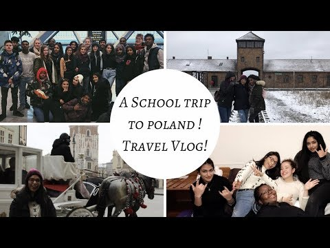 GOING TO POLAND FOR THE WEEKEND! SCHOOL TRIP 2018!