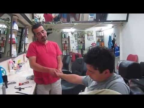 Turkish barber Head Massage - Kuafor Ercan