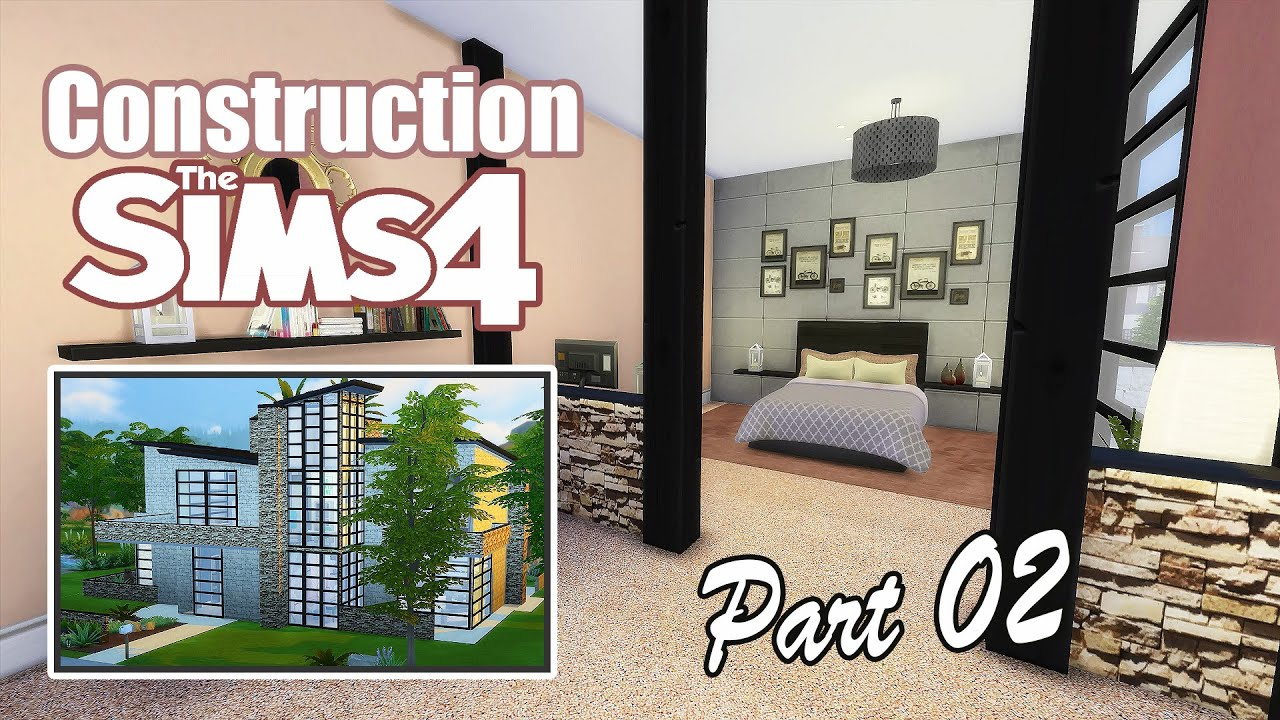 D co co sims 4 maison industrielle part 02 youtube for Decoration maison sims 4