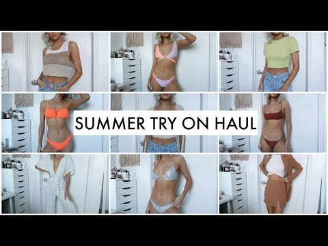 HUGE SUMMER TRY ON HAUL! UO, REVOLVE & TIGER MIST!