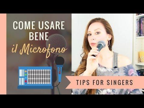 Microfono per Cantare - Come Usare il Microfono