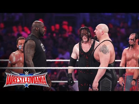 Shaquille O'Neal enters the 3rd annual Andre the Giant Memorial Battle Royal: WrestleMania 32