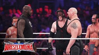 Shaquille O'Neal enters the 3rd annual Andre the Giant Memorial Battle Royal: WrestleMania 32 thumbnail