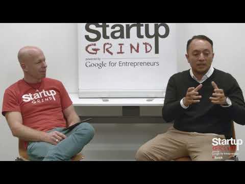 Startup Grind Zurich hosts Alan Frei (amorana) w/ David Butler