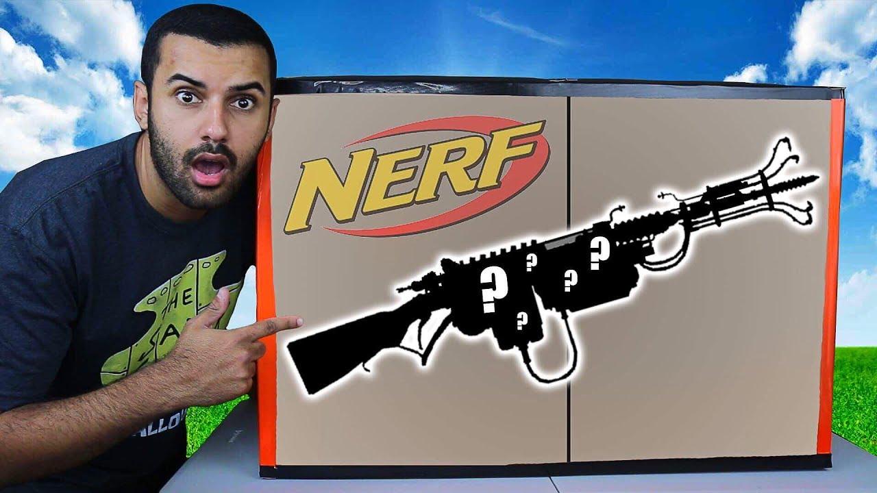 Insane Nerf Ebay Mystery Box Challenge 📦⁉️ 100 000