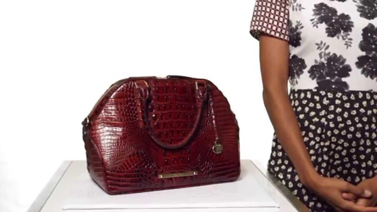c1b45918672e Brahmin Hudson Satchel Video. Brahmin Handbags