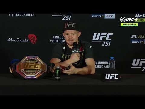 UFC 251: Лучшие моменты пресс-конференции