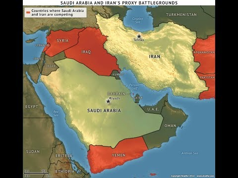 Battle Lines Are Being Drawn In The Middle East