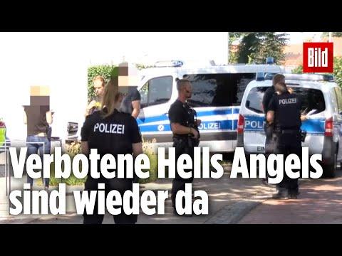 Schüsse in Bremen auf Rocker – Er soll ein Hells Angel sein