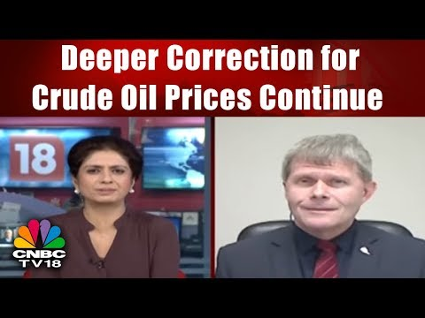 Deeper Correction for Crude Oil Prices Continue || Commodity Corner || CNBC TV18