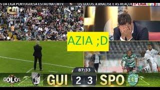 AZIA na cmtv após golo Vitória Guimarães