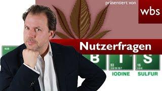 Mit einem Trick legal kiffen in Deutschland? Nutzerfragen Rechtsanwalt Christian Solmecke