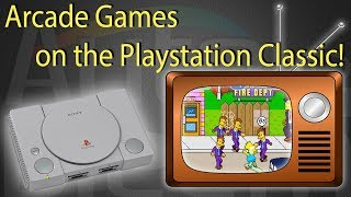 How to play Arcade games on your Playstation Classic (Tutorial)
