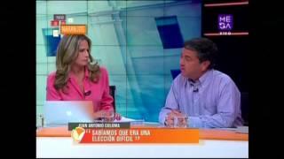 """Senador Juan Antonio Coloma: """"Aquí el gran ganador fue la izquierda"""" #PatiodeNaranjos"""