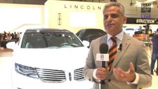 Kumar Galhotra   Lincoln   Dubai Motor Show
