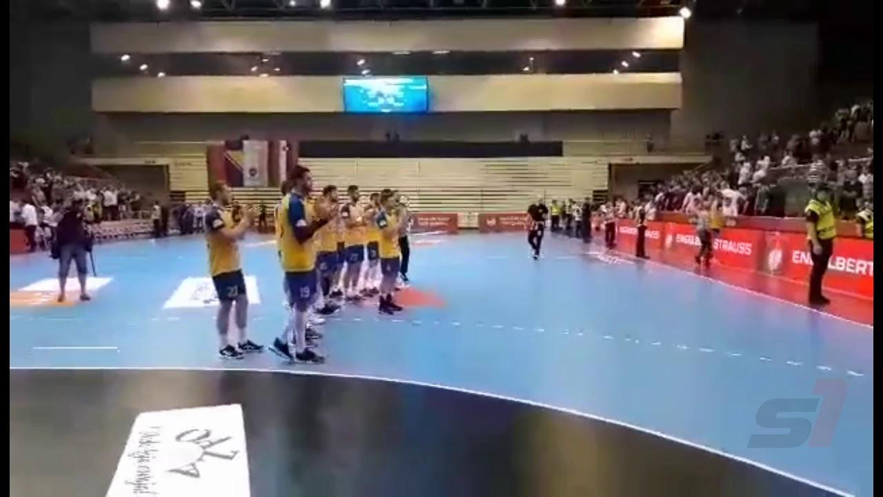 Navijači BiH aplauz za rukometne Zmajeve