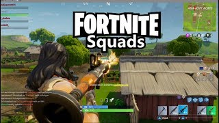 Fortnite Squads Lets Get Some Wins! w/scottiei3, Lil_shakee and Mark and viewers PS4
