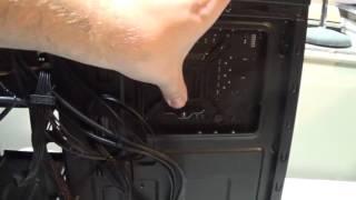 corsair h60 unboxing and installation corsair spec 01 case