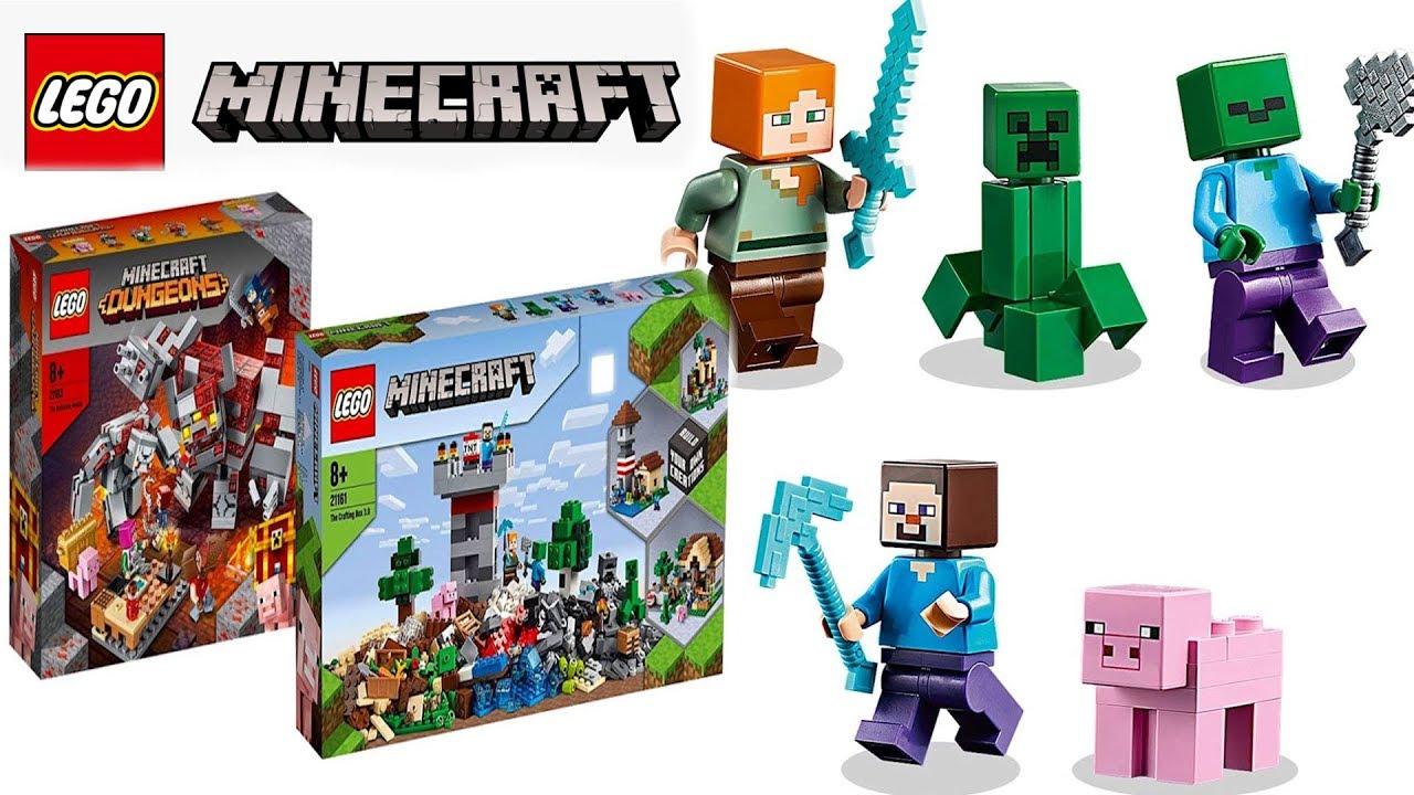 Лего Майнкрафт 2020 летние наборы фото Конструктор LEGO Minecraft 2020
