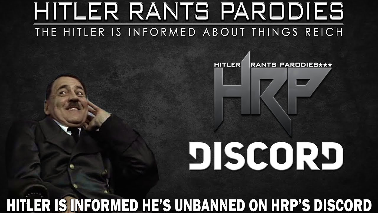 Hitler is informed he's unbanned on HRP's Discord server