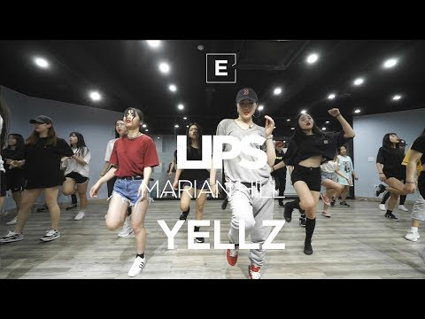 YELLZ | GIRLISH CLASS | MARIAN HILL - LIPS | E DANCE STUDIO | 이댄스학원 | 걸리쉬댄스